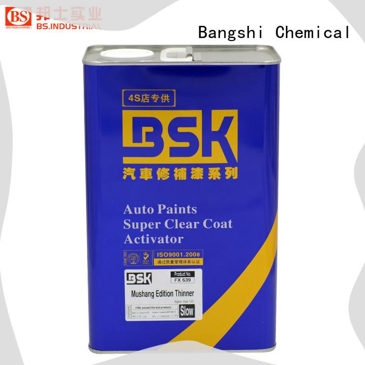 Bangshi Chemical 2k thinner manufacturer for truck