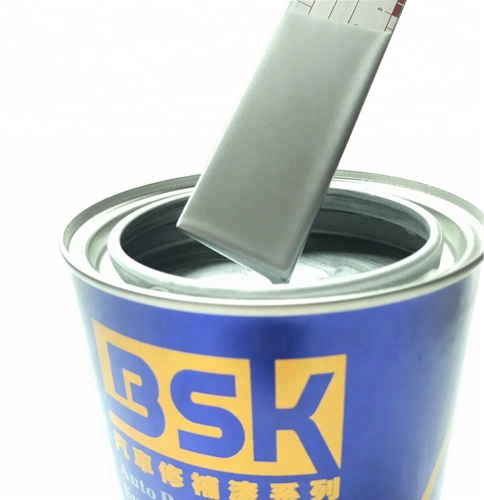 Factory Low Price High Quality Metallic Paint 1k Medium Silver Base Paint For Car Protection