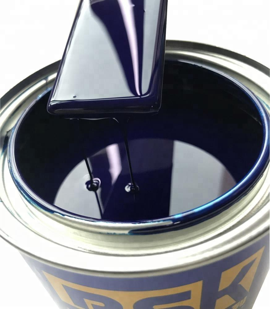 UV Resistant Long Lasting One Component Blue color Paint Colors Auto Spray Base Paint