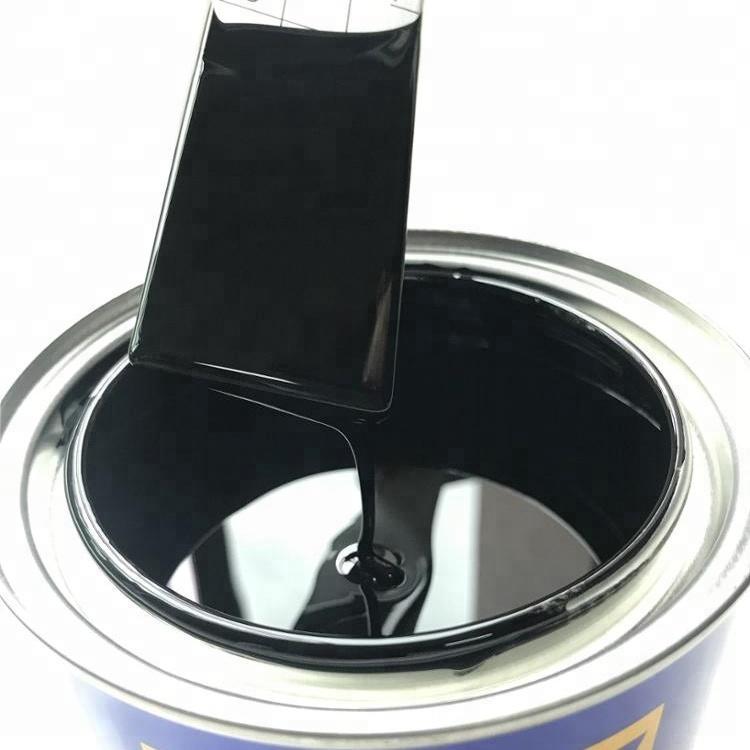 Automotive Paint Manufacturer Rust Resistant Refinish 1k Black Color Car Base Paint