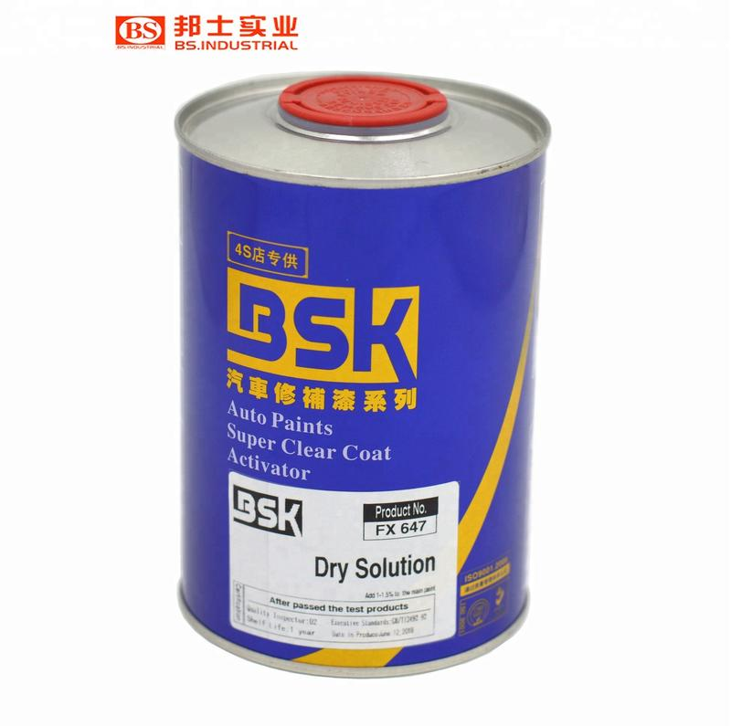 Automotive Refinish Paint Auxiliary Product Spray Method Automobile Accessories Promote Drying Speed Dry Solution