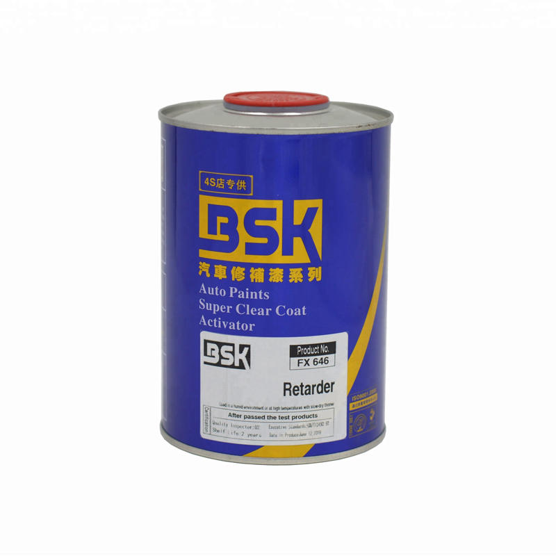 General Purpose Car Body Refinishing High Performance Auxiliary Retarder Filler Spray Paint For Automotive Repair
