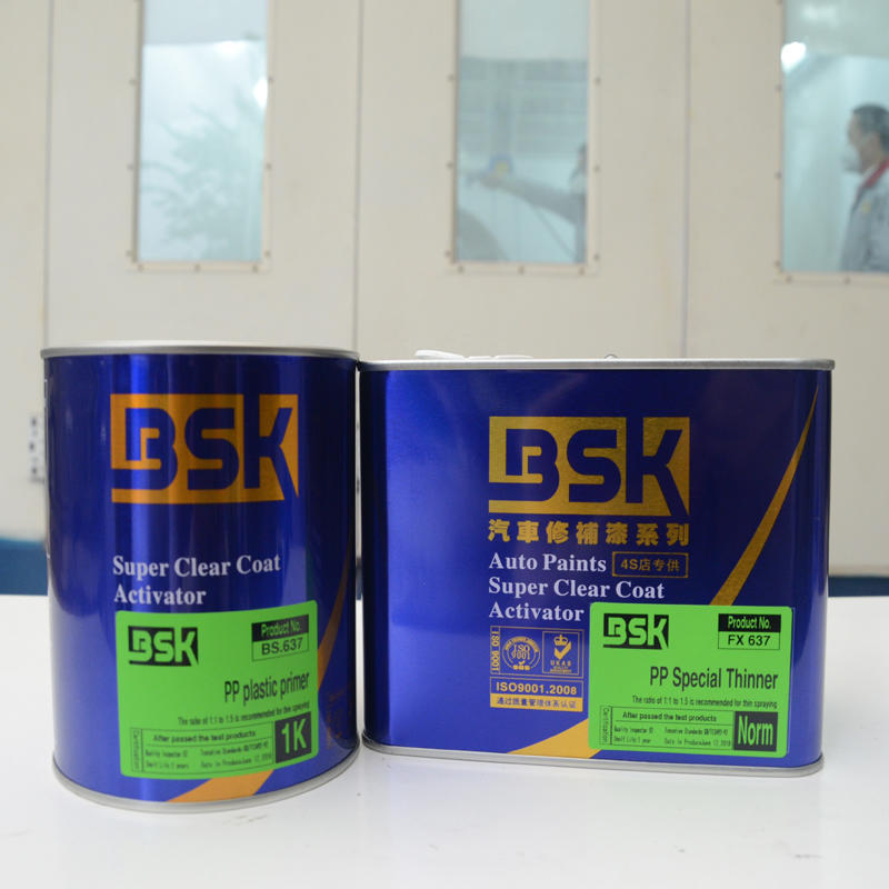 Competitive Price Excellent Adhesion To Substrate Good Heat Resistance 1K PP Plastic Gray Primer Use For Car Plastic Parts