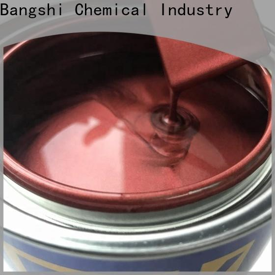 Bangshi Chemical top selling metallic red paint supply for truck