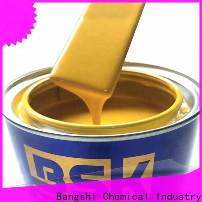 Bangshi Chemical factory price luminous car paint manufacturer for RV