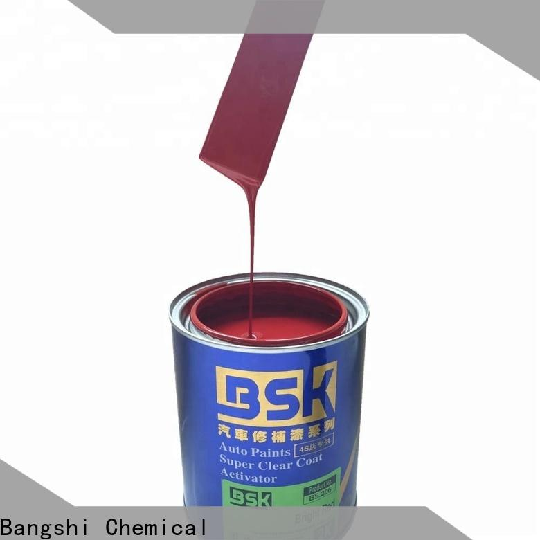 Bangshi Chemical red car paint from China bulk production