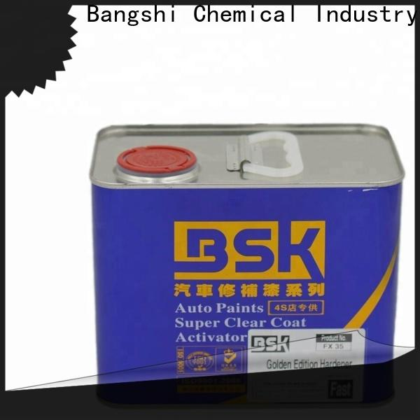 Bangshi Chemical hot selling latex paint hardener factory for vehicle