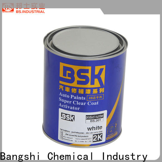 Bangshi Chemical eco-friendly 2k lacquer from China for truck