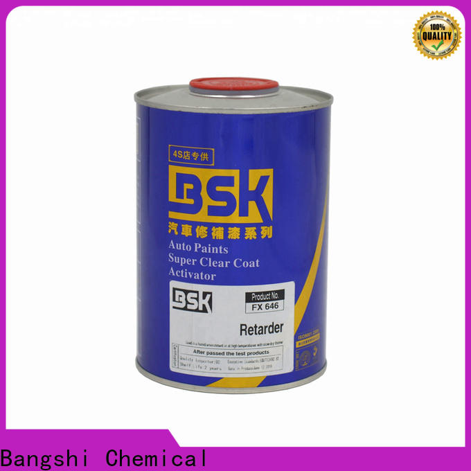 new metallic black car paint touch up refinishing factory direct supply for car