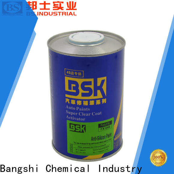 Bangshi Chemical top car paint patch repair supply for vehicle